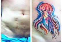 Narben tattoo