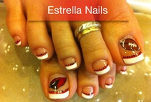 Crazy fun nails / Nails for fun days, sport days, holidays!