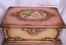 decoupage romantic