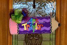 Teacher Door Hangers