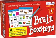 Brain Boosters / Innovative Wipe-Clean Card Game For The Early Learners!