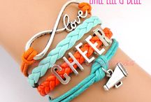 cheer stuff:) / by Angie Carver