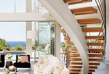 {Design Inspiration: Stairs} / Interior design, architecture and stair inspiration