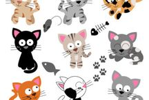 Art & Doodles - Animals - Cats / by Heather R