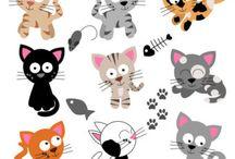 Art & Doodles - Animals - Cats