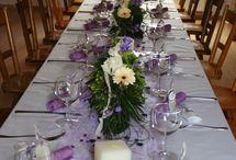 Lilla dekor / Dekor bryllup