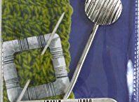 Loose knit shawl