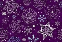 Purple Christmas / by Cynthia Shelton