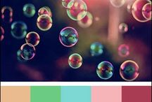 Pink, Aqua & Green Card Inspiration / Color inspiration for hand made cards from KraftOutlet.com