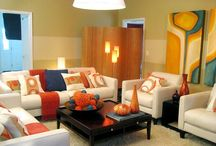 Living Room Colors / Living Room Colors, Specialists proved that your color schemes have a great impact on your mood, every one choice of colors depend on his personality and character. There are some people who like living room colors that are too bright or too calm, or may prefer to have combination of vibrant and calm colors to make a conflict with each other. In selecting your living room color schemes, you can play some tricks in order to make your living room colors come alive. / by living room designs 2014 - living room ideas 2014 .