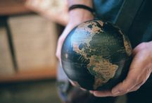 Maps and Globes Take me Around the World