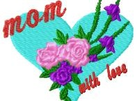 Mother Embroidery designs