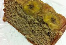 bolo de banana sem farinha e açúcar