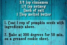 Fall and  Halloween treats / With fall come tons of fun things from Halloween do Thanksgiving