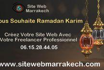 Offre Ramadan 2018 : Création de Site Web Professionnel à mini prix 0615284405