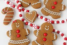 Christmas cookies / Gingerbread Man