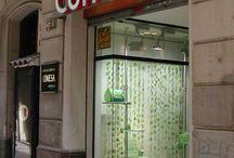 BCN Paper & Food / Tiendas de Barcelona dónde comprar papeles y cosas de manualidades y los sitios más molones para tomar algo.
