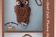 crochet bag/phoneholder etc