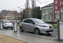 Elektroautos / Umweltschonende Autos mit rein elektrischem Antrieb