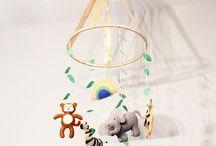 Handmade Baby Mobiles