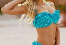Checks, Stripes and Dots Full Bust Swimwear