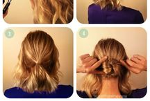 Updo Short Hair