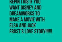 jack frost and elsa