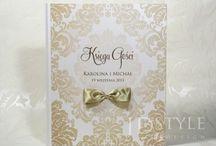 Księga gości weselnych / Dzięki specjalnej księdze spraw, by Twoi goście wpisali się do niej i miej pamiątkę na całe życie!
