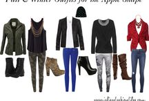 Apple shape winter wear