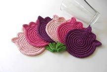 Szydełkowe dodatki do domu / crochet home accessories, szydełkowe dodatki