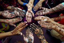 : on the skin / Tattoos, henna, makeup...