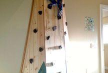 climbing wall ideas