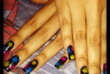 Nail decoration!!! / Deferentes tipos de Uñas y de decoración!!! / by Fabiola Sandoval