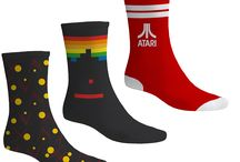 AMAZING Atari Merchandise - Perfect for Christmas! / Retro is BACK! Check out some of the coolest Atari socks and merchandise out there! http://www.funstockretro.co.uk/retro-merchandise/atari-merchandise
