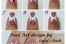 Nail art tutoriel / Nail art