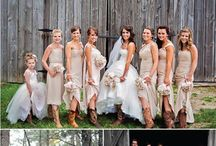 Country Wedding / Wedding ideas for the country.