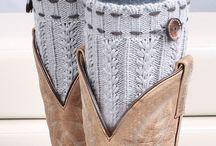 leg warmers crochet