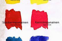 Taide: värit