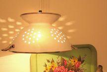 Lamparas y otros / Ideas de lamparas y pantallas simpaticas