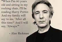 Actors: Alan Rickman... / Alan Rickman