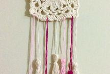 Mis Tejidos / Colgante Crochet Mandala