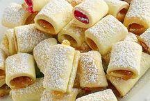 печенье из вареньем