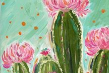 cactus pinturas