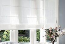 Raambekleding   Vouwgordijnen / Met vouwgordijnen kies je voor sfeervolle raamdecoratie die u ook nog eens bescherming biedt tegen zonlicht én nieuwsgierige ogen van buitenaf.