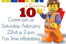 Lego Movie Party Ideas / by Katie Hall