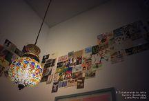 """Arte in Movimento - Centro Goodtoday / Durante el mes de agosto 2013 el proyecto de arte postal """"Arte in Movimento"""" se exhibió en el Centro de yoga Goodtoday de la ciudad de Lima - Perú."""