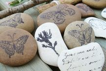 Arts & Crafts - Supplied...by nature / It's nice to create with bits of God's creation / by Marie E