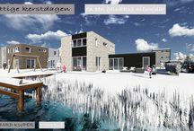 Vrijstaande woning Familie Steenkamer Blitsaerd, Leeuwarden / Nieuw ontwerp vrijstaande woning Familie Steenkamer in de Blitseard te Leeuwarden. Leo Korsten Bouwbedrijf Knol en de Jong www.bernhardkuiper.nl