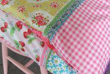 Quilts et plus mais pastel / Quilt et autres deco textiles, vaiselle,... Pastel