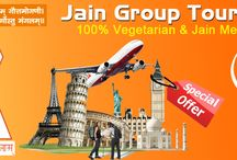 Jain Group Tours / We offers Group Tour Packages for Europe, USA, Canada, South East Asia and India.